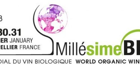 29, 30 et 31 janvier Millésime Bio à Montpellier